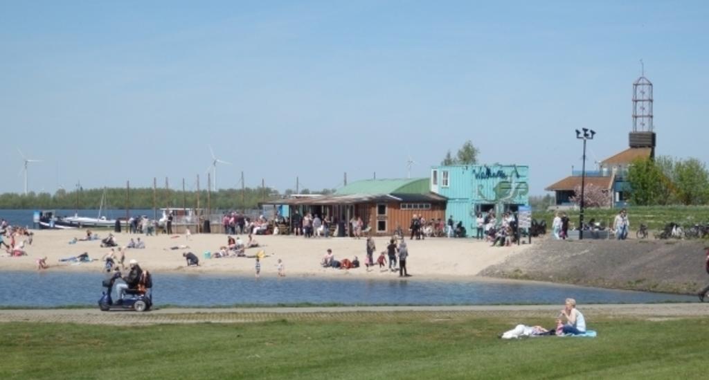 Ciry beach of Harderwijk