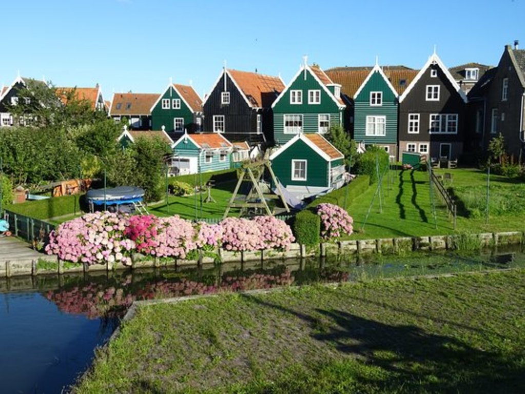 the beautiful village Marken