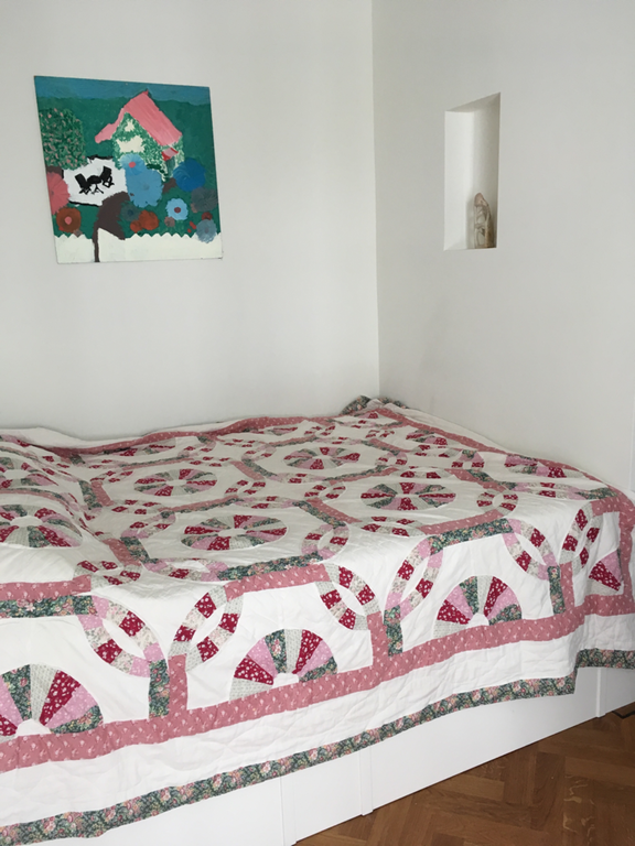 Bedroom 2, the bed measures 140 x200  cm