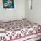 Bedroom 2, the bed measures 140 x200  cm