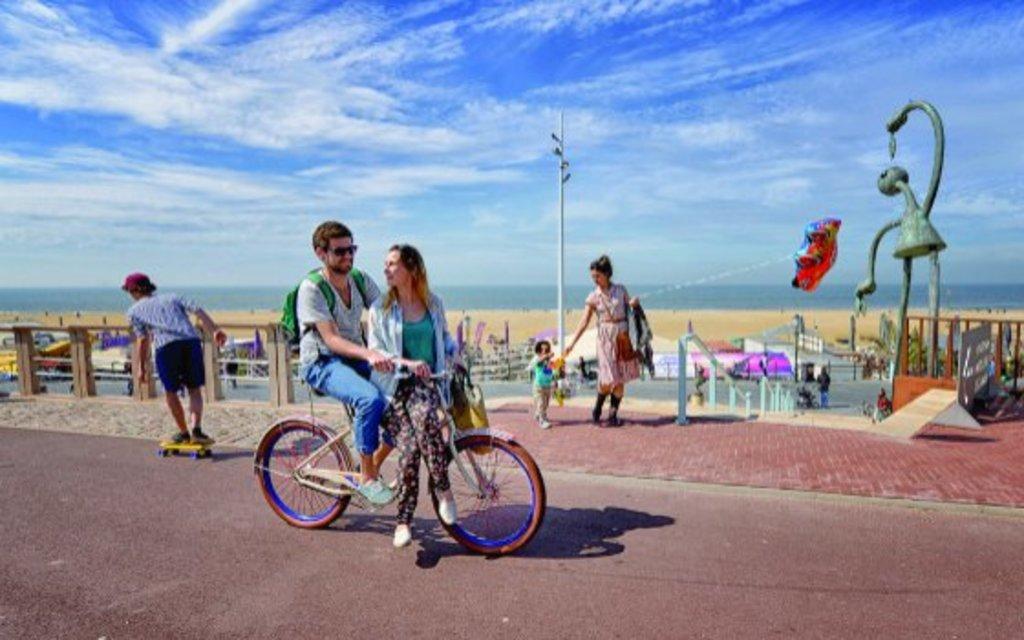 The Beach Avenue of The Hague