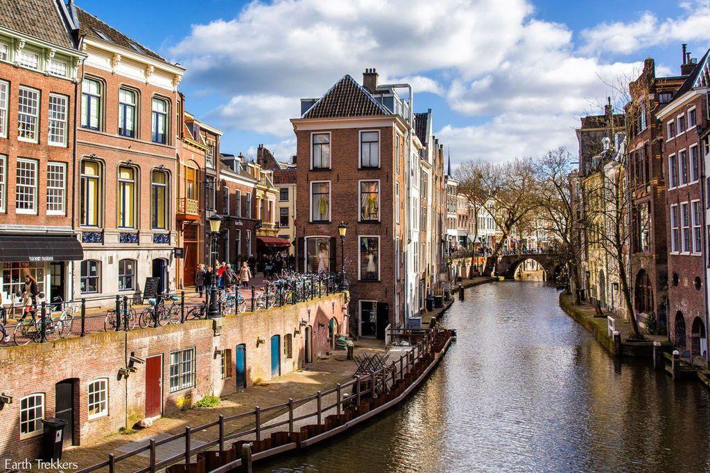 Utrecht a very lovely city only an hour away