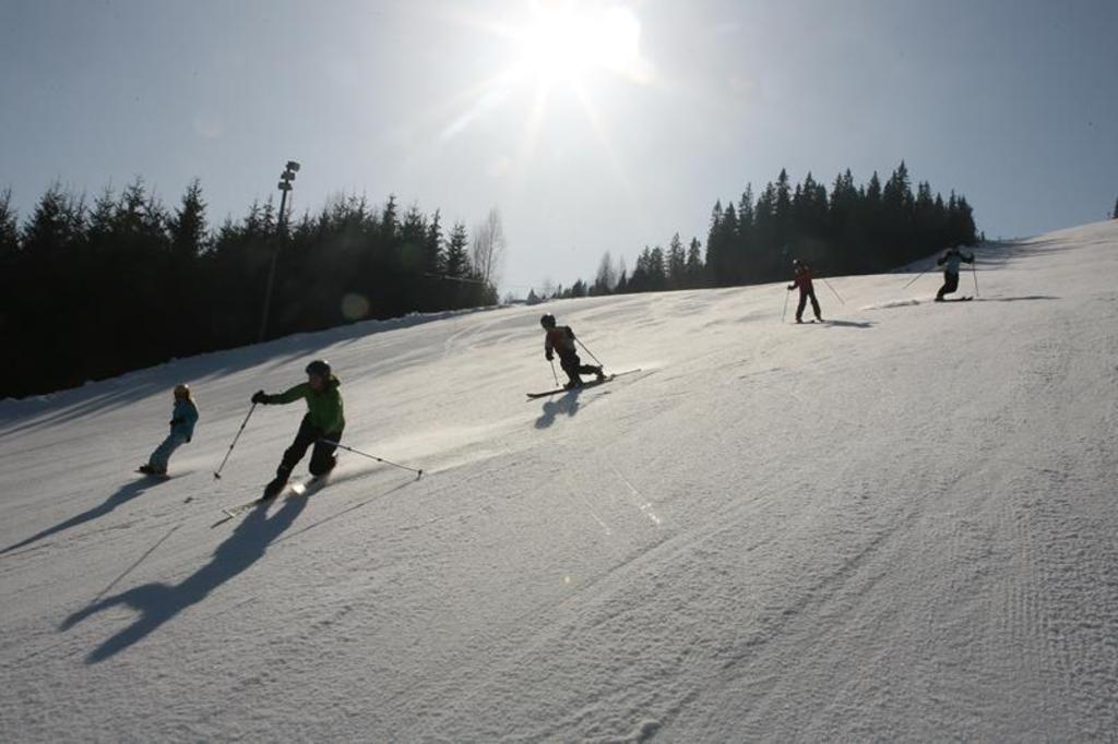Skiing 20 min drive