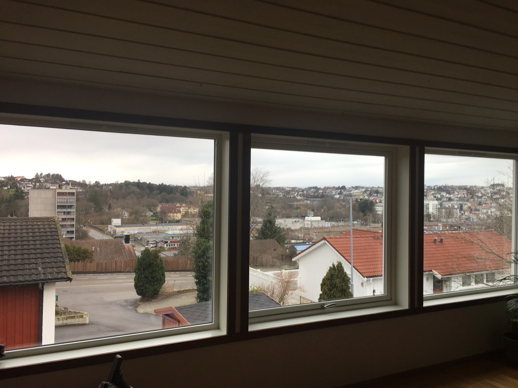 View of Sandnes from the lounge