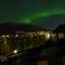 Sometimes, even above Bergen - Northern lights! Des fois, même au-dessus Bergen, aurores boréales!