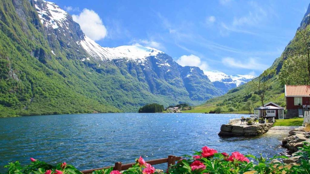 Nærøyfjorden. 2 hours drive away. UNESCO