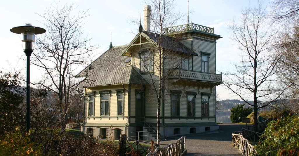 Troldhaugen. 5 min walk from the appartment. Home of composer Edvard  Grieg