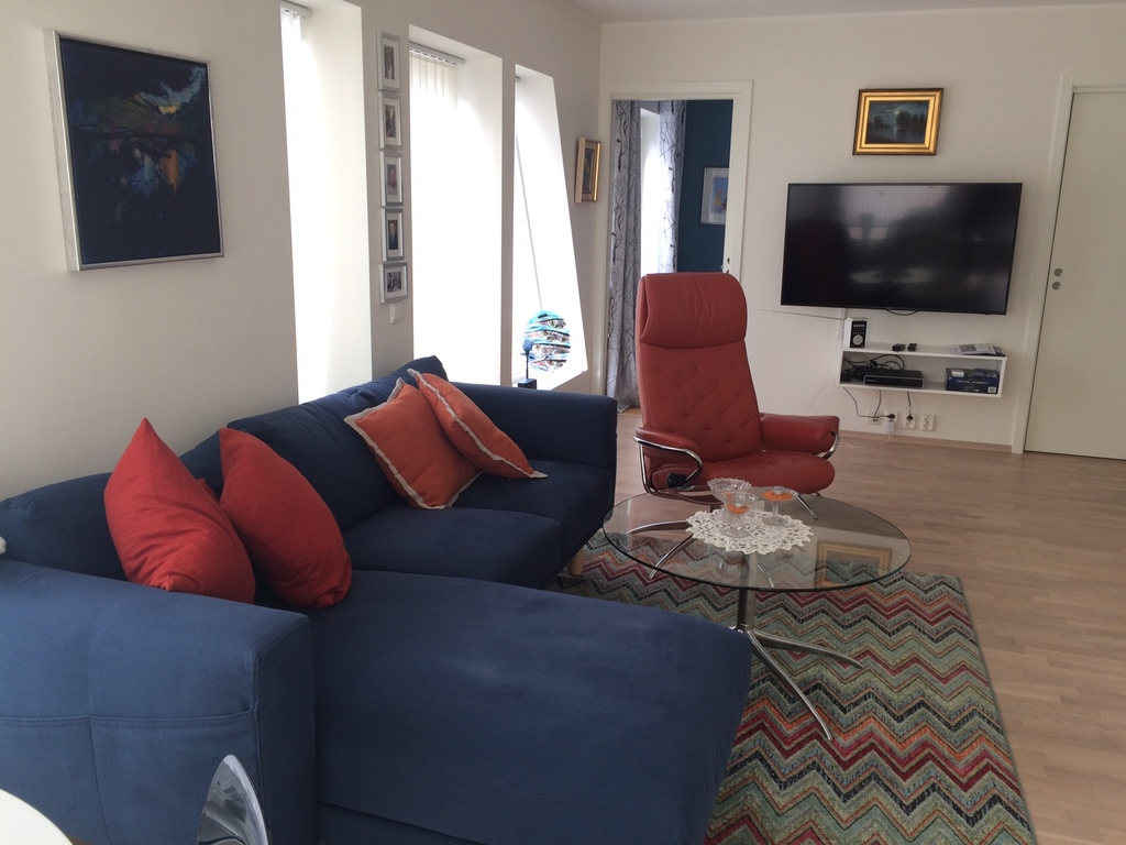 Living room with sitting group