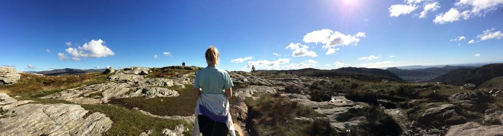 Top of Mount Ulriken
