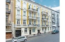 The facade to the street.