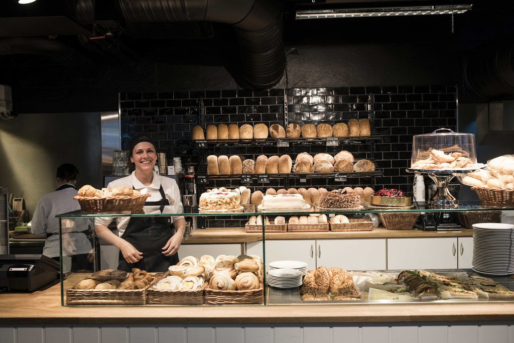 Many small and different bakeries in Bergen