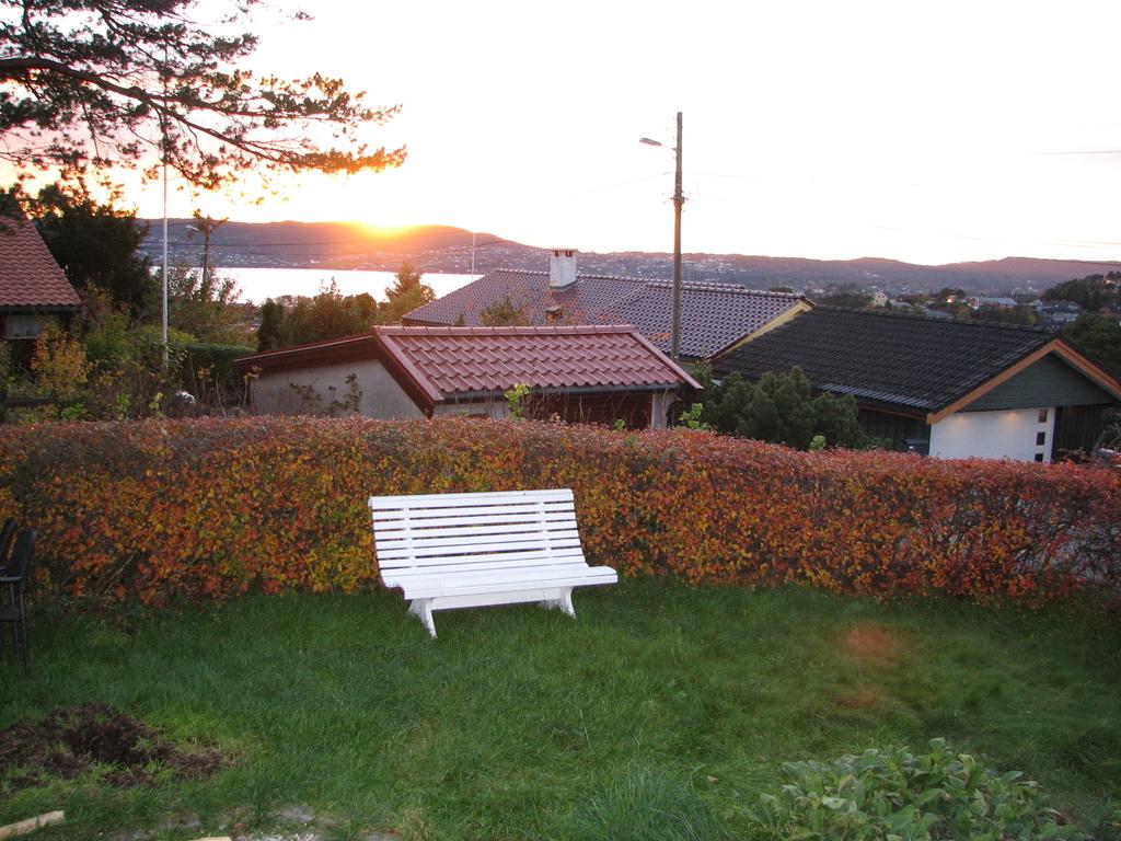 Sunset as seen from the veranda