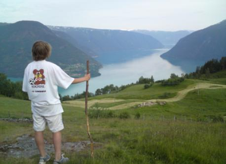 Our son by the fjord