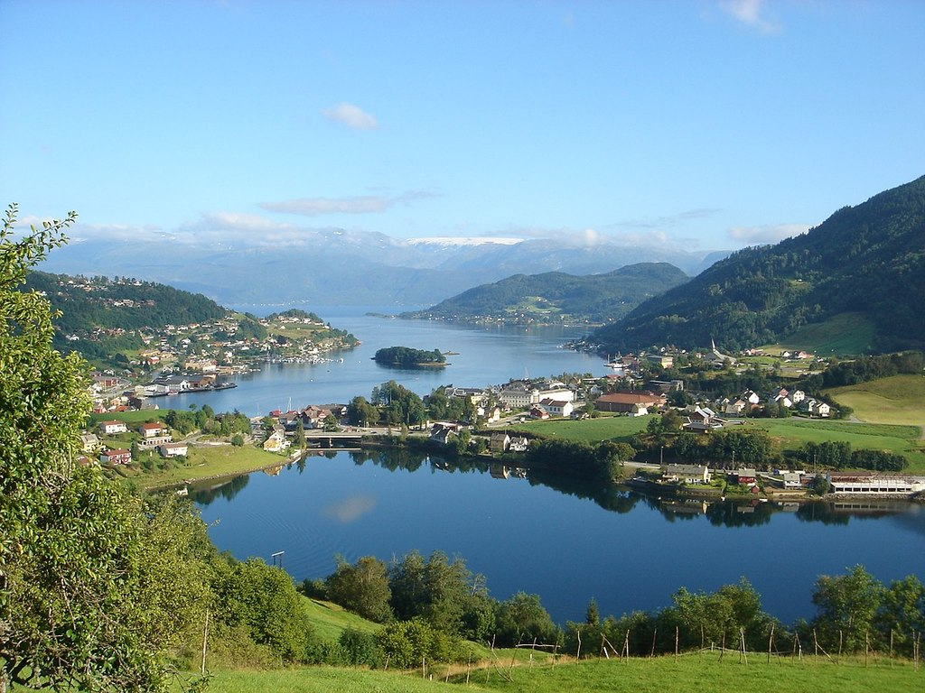 Hardangerfjord, Nordheimsund, 1 hours drive from our house