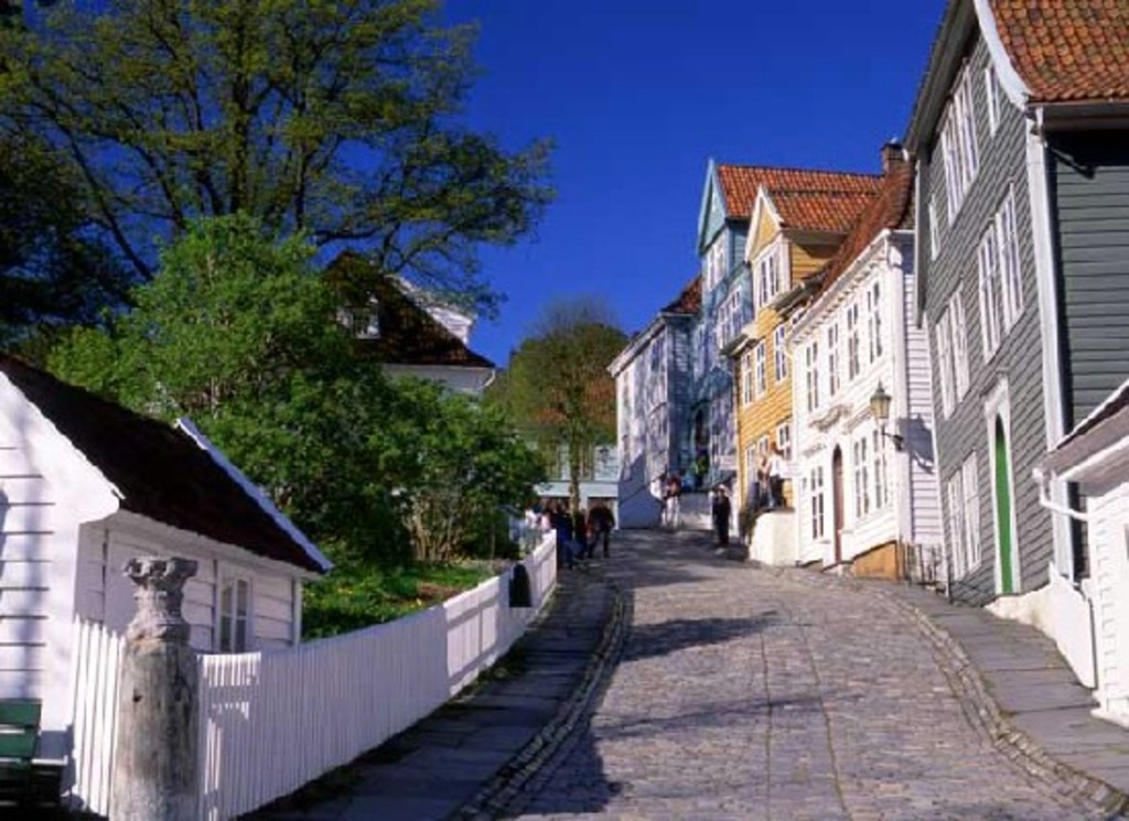 Old Bergen museum, 8 minutes from our house