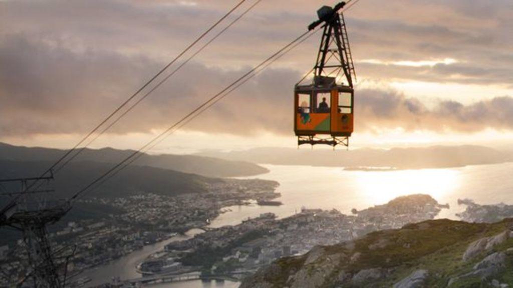 Bergen, Ulriken, and the Ulriksbanen gondola