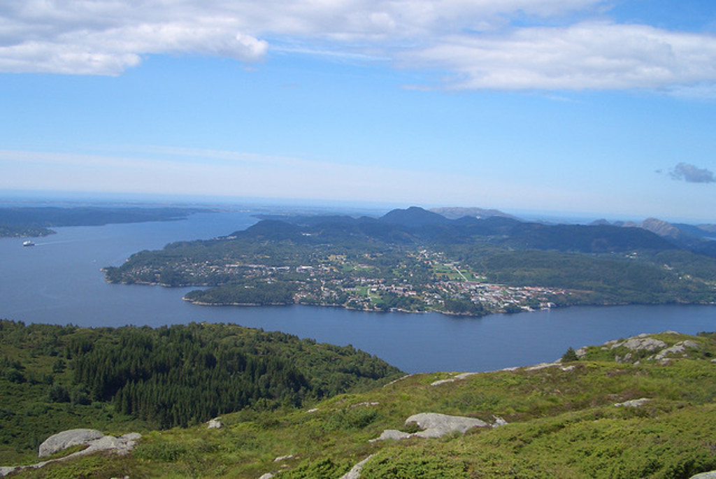 Tellevikfjell, a nice walk. 12 minutes drive from the house