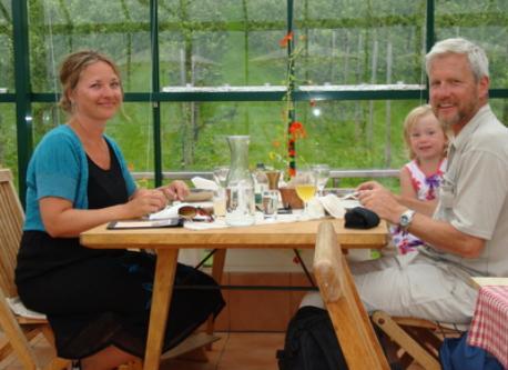 Rudi and Anne-Line (+Maya)