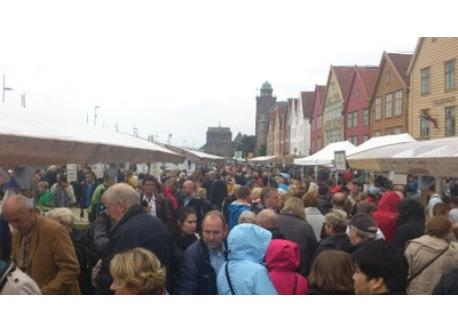 Farmers market in Bergen