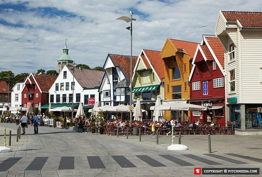 Stavanger inner harbour - Skagenkaien
