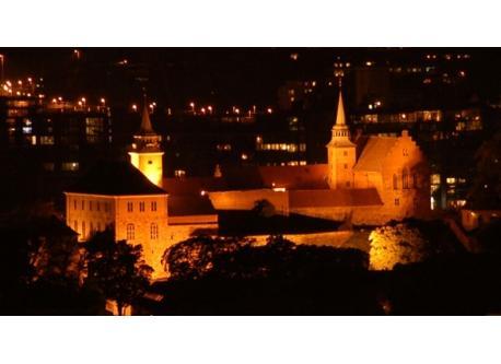 Akerhus fortress, Oslo city center.
