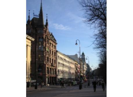 Karl Johan, Oslo's main street.