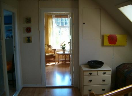 First floor landing and guest room