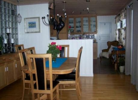 Diningroom + kitchen