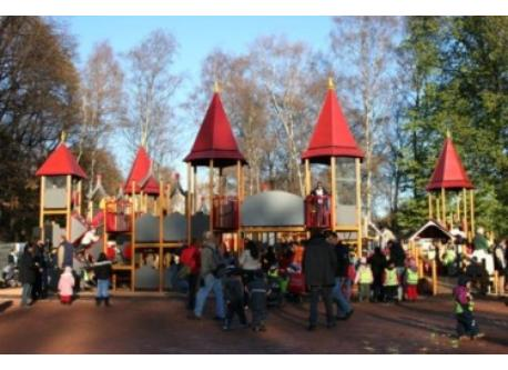 Playground at Frognerparken in Oslo