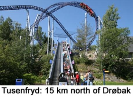 Tusenfryd, an amusement park close to our home