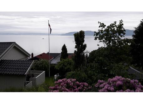 Haus am Trondheimsfjord mit Garten, 3 Schlafzimmer, 5 Betten