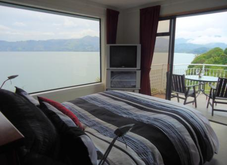Main Bedroom with views!