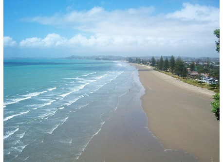 Orewa Beach a few minutes walk from home