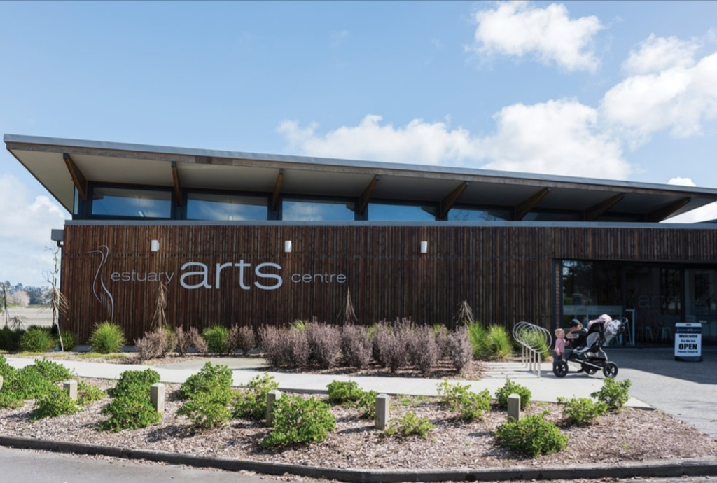Orewa Estuary Arts Centre.