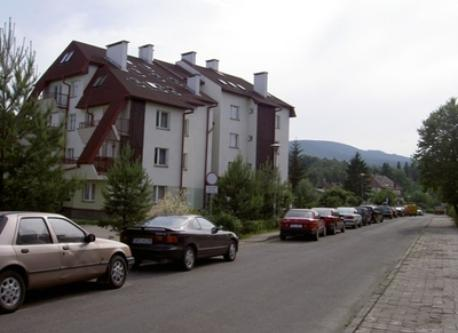 There is a flat in this building in Polanica Zdroj