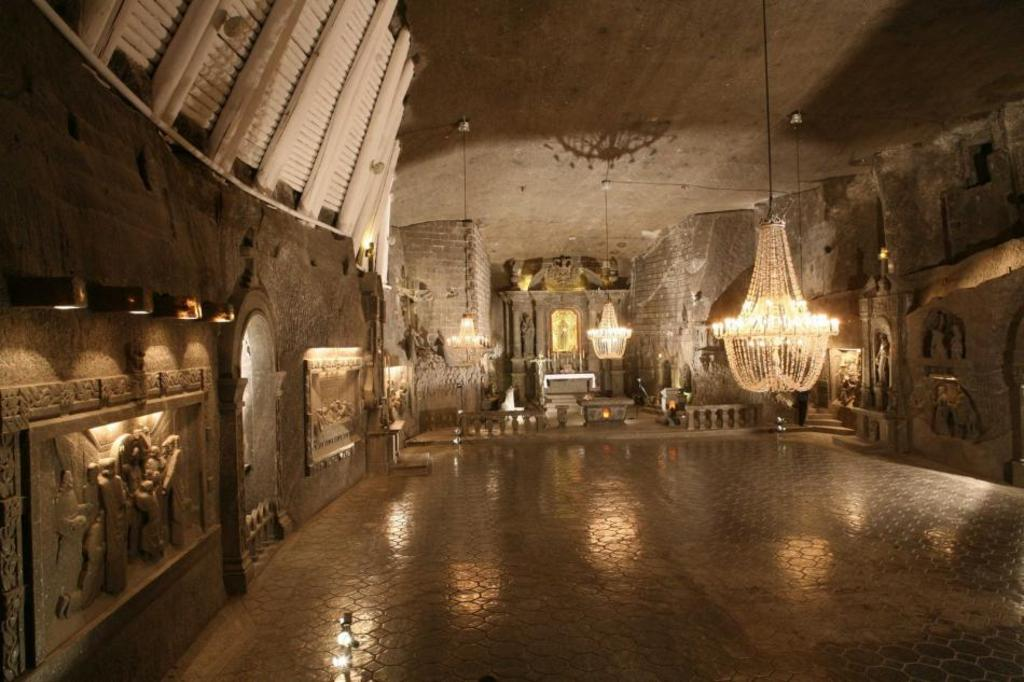 Salt mine in Wieliczka, near Cracow - 159 km