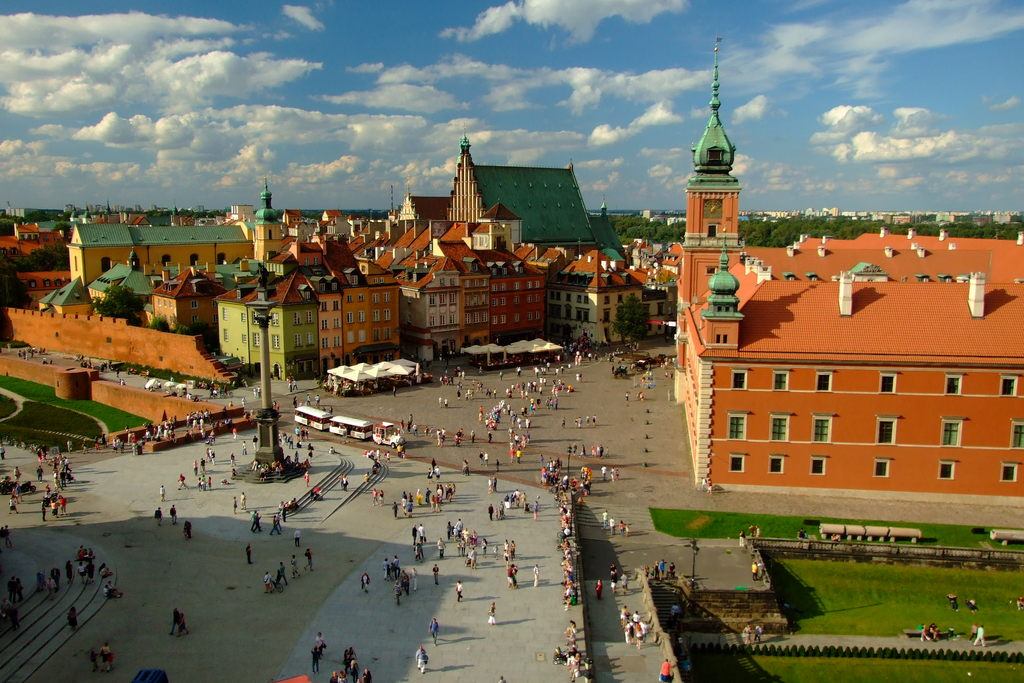 Warsaw - Polish capital - 370 km reachable by new, comfortable trains