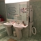 Bathroom en suite with shower, tub and washer/dryer