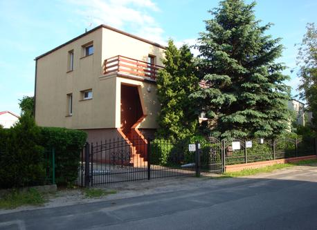 House in Wroclaw, street view