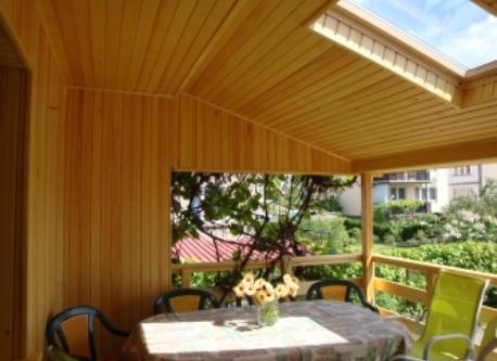 Terrace by kitchen