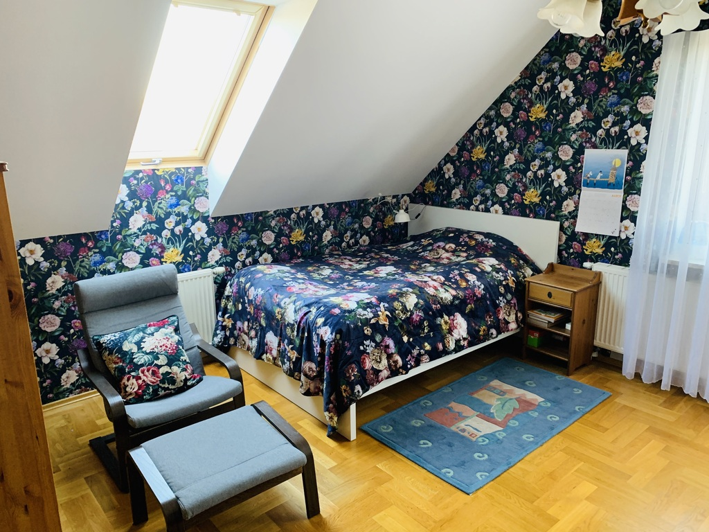 The first bedroom upstairs