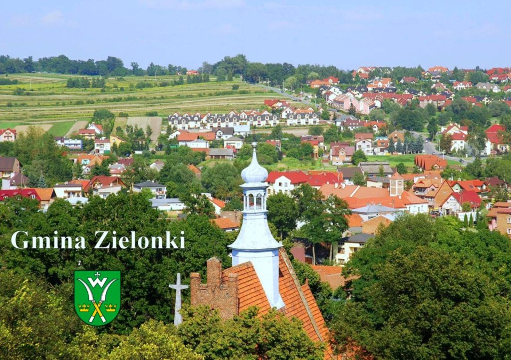 THE VIEW ON ZIELONKI NEAR KRAKÓW - WE LIVE HERE :)