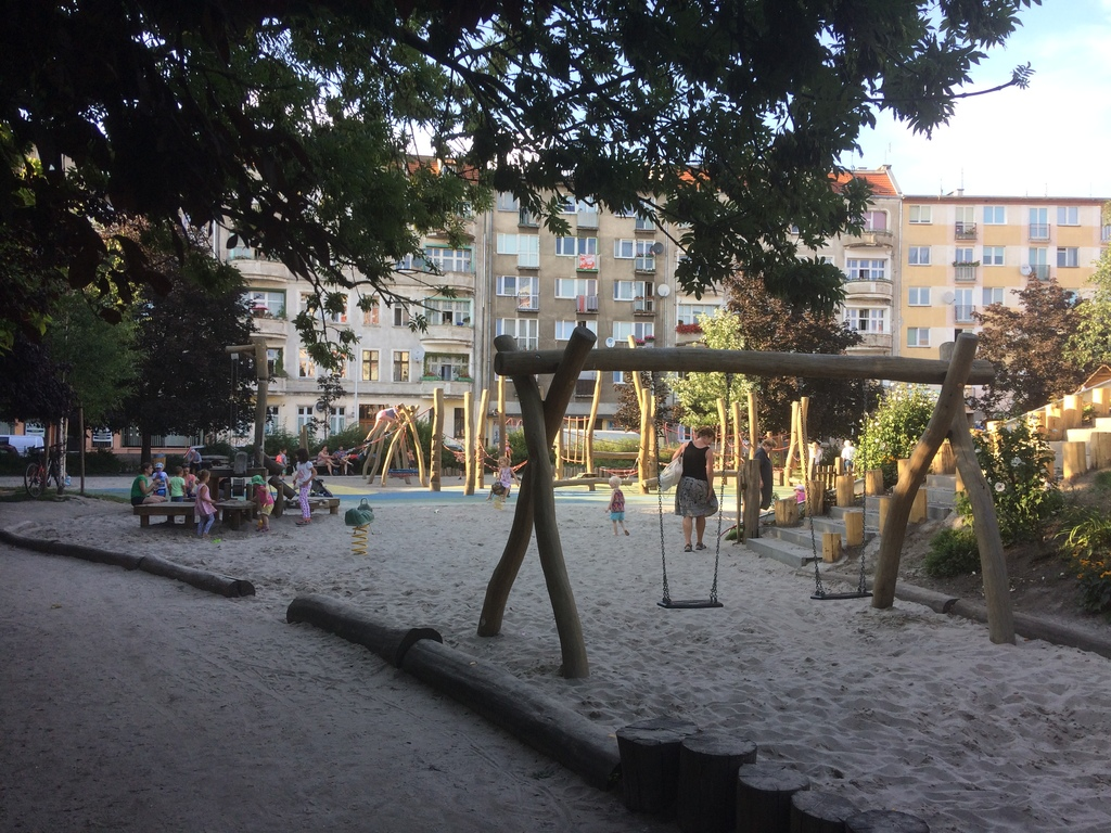 Playground in Wroclaw.