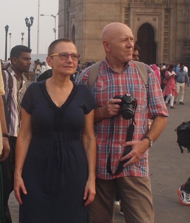 Jolanta & Krzysztof in Mumbay