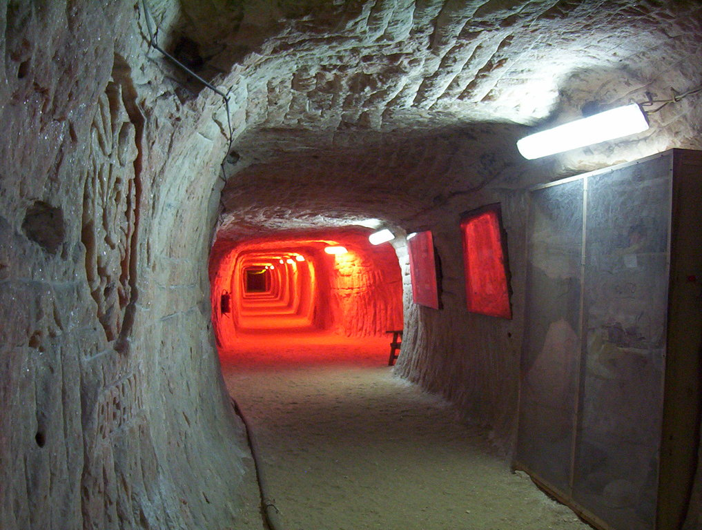 Salt mine Klodawa 150 km