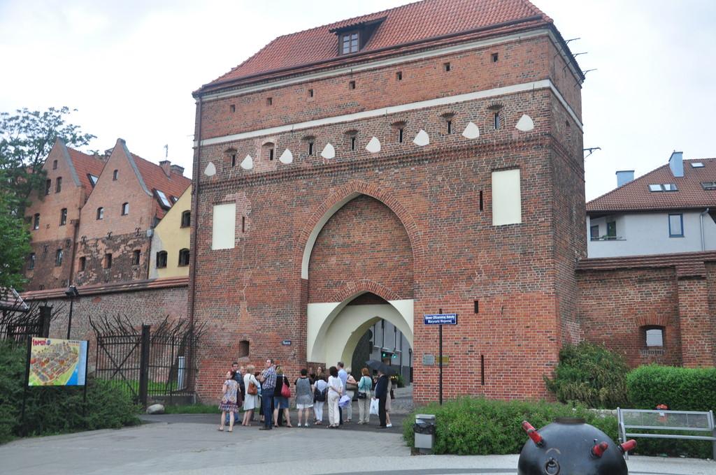 Medieval town Torun 150 km