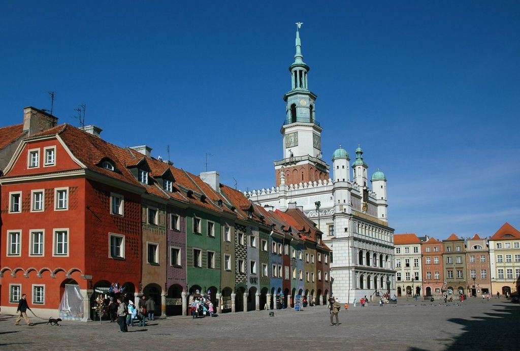 Poznan, Tawn Hall and Old Market