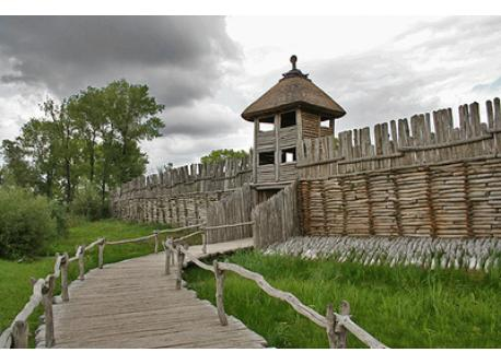 Biskupin Settlement built 700 B.C. (80 km NE from Poznan)