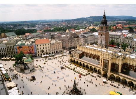 Cracow - Main Market Square (15 km from our home)