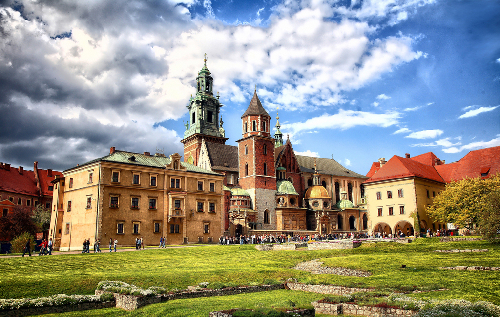 Wawel Castle (16 km from our home)